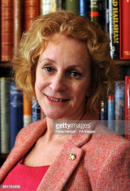 Author Philippa Gregory who wrote the book The Other Boleyn Girl at Clarence House where the Prince of Wales hosted a reception celebrating the...