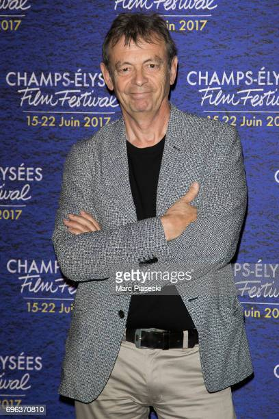 Author Pierre Lemaitre attends the 6th 'ChampsElysees Film Festival' at Cinema Gaumont Marignan on June 15 2017 in Paris France