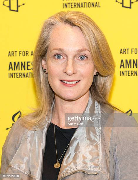 Author Piper Kerman attends Amnesty International USA's 50th Annual Gathering at New York Marriott Brooklyn Bridge on March 21 2015 in New York City
