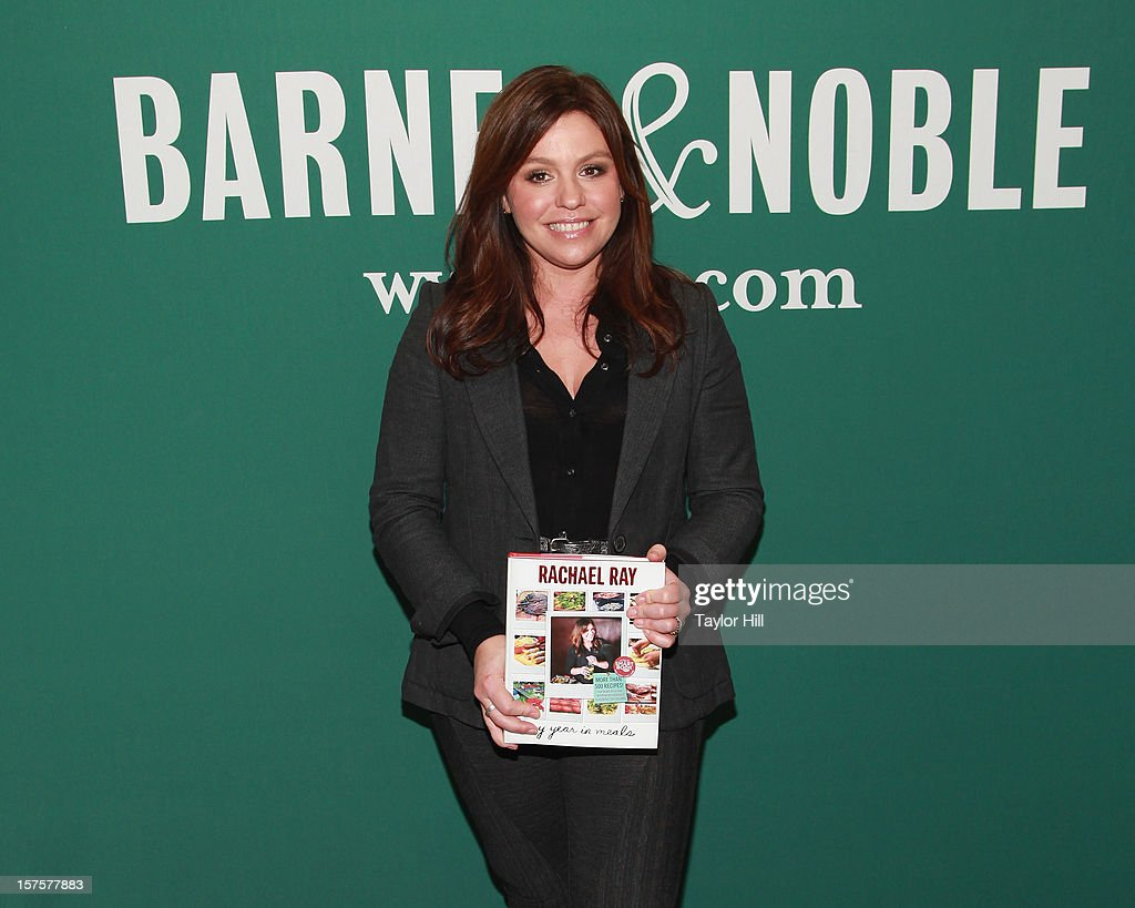 Author Rachael Ray attends a signing of her book 'My Year in Meals' at Barnes & Noble Union Square on December 4, 2012 in New York City.