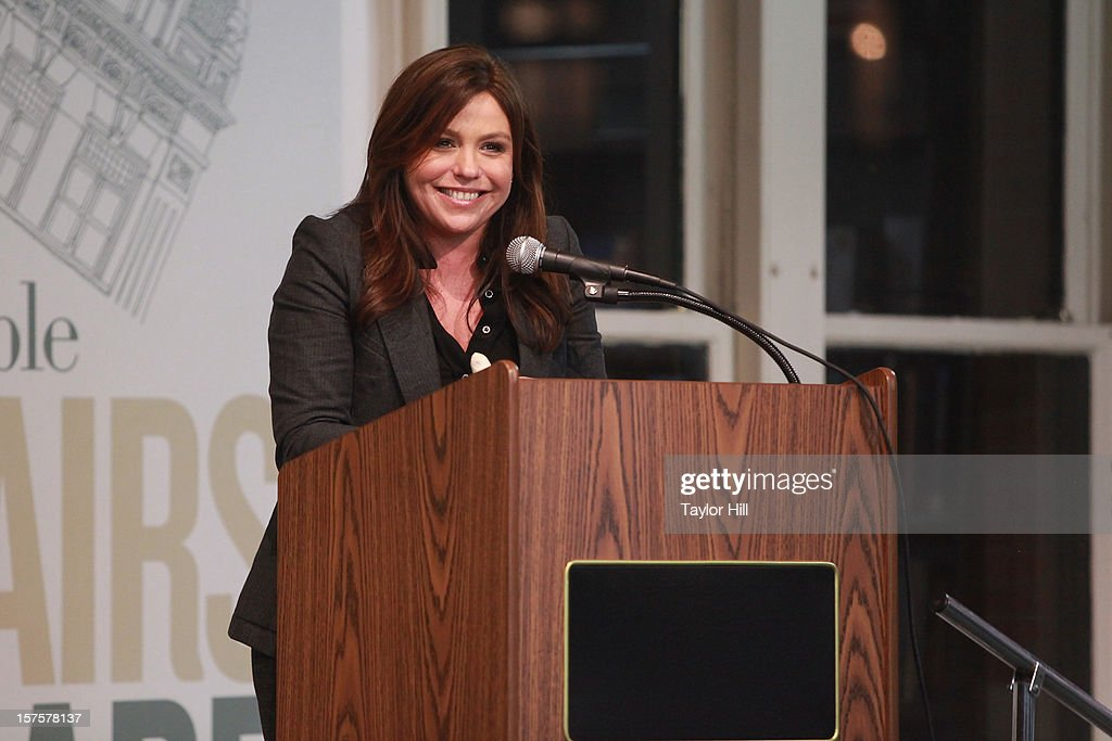 Author <a gi-track='captionPersonalityLinkClicked' href=/galleries/search?phrase=Rachael+Ray&family=editorial&specificpeople=542712 ng-click='$event.stopPropagation()'>Rachael Ray</a> promotes her book 'My Year in Meals' at Barnes & Noble Union Square on December 4, 2012 in New York City.