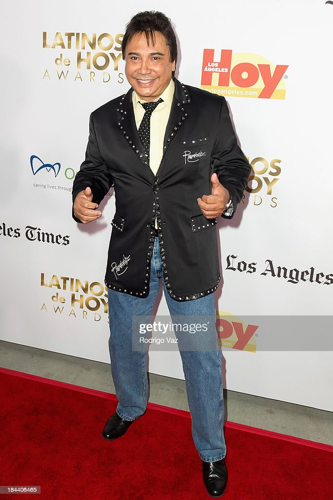 Author Renan Almendarez Coello arrives at the 2013 Latinos De Hoy Awards at Los Angeles Times Chandler Auditorium on October 12, 2013 in Los Angeles, California.