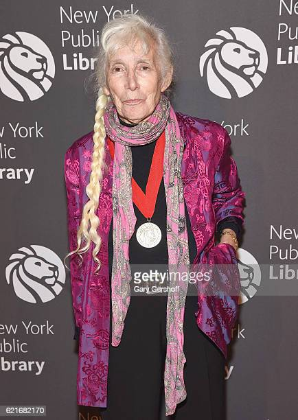 Author Renata Adler attends the 2016 Library Lions Gala at New York Public Library Stephen A Schwartzman Building on November 7 2016 in New York City