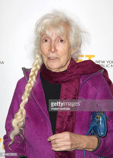 Author Renata Adler attends the 'Mike Nichols American Masters' world premiere at The Paley Center for Media on January 11 2016 in New York City