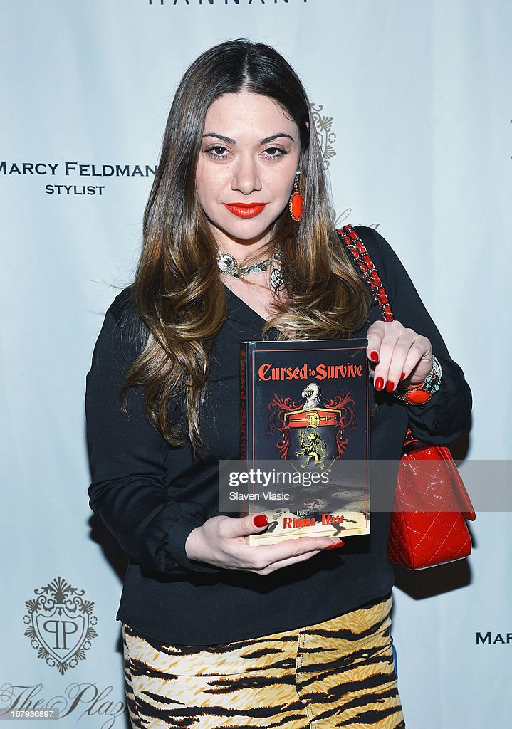 Author Rimma Rose Shpigelman attends the Safra Luncheon at The Warren Tricomi Salon At The Plaza Hotel on May 2, 2013 in New York City.