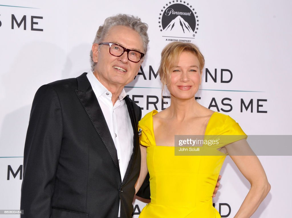 Author Ron Hall and Actress Renee Zellweger attend Same Kind Of Different As Me Premiere on October 12, 2017 in Los Angeles, California.