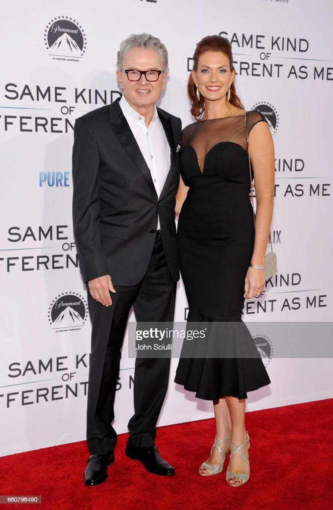 Author Ron Hall and Beth Hall attend Same Kind Of Different As Me Premiere on October 12, 2017 in Los Angeles, California.