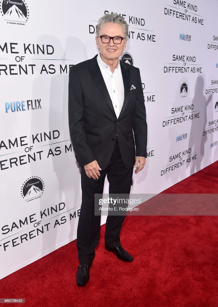 Author Ron Hall attends the premiere of Paramount Pictures and Pure Film Entertainment's 'Same Kind Of Different As Me' at Westwood Village Theatre on October 12, 2017 in Westwood, California.