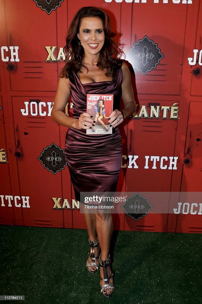 Author Rosa Blasi arrives to the 'Jock Itch' Book Release Party at Eden on April 20, 2011 in Hollywood, California.