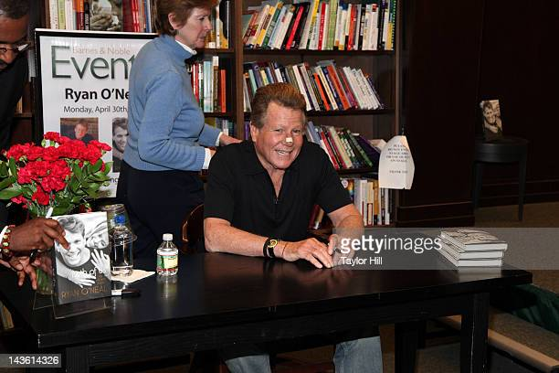 Author Ryan O'Neal promotes the new book 'Both Of Us My Life With Farrah Ryan O'Neal' on April 30 2012 in New York City
