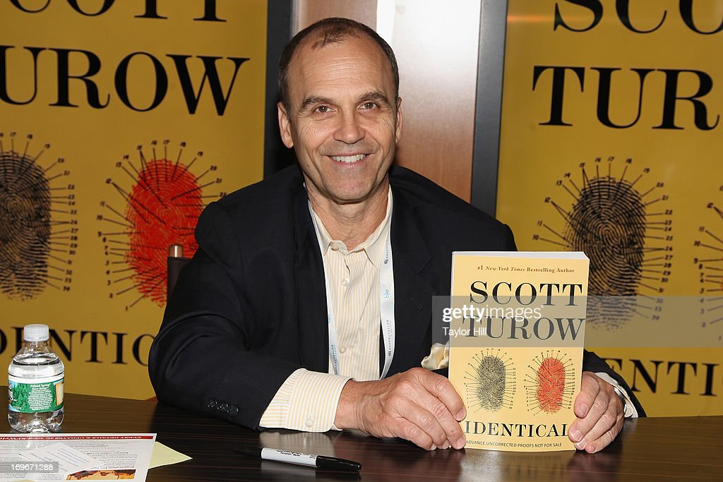 Author <a gi-track='captionPersonalityLinkClicked' href=/galleries/search?phrase=Scott+Turow&family=editorial&specificpeople=1130014 ng-click='$event.stopPropagation()'>Scott Turow</a> attends the 2013 Book Expo America on day one at Jacob Javits Center on May 30, 2013 in New York City.