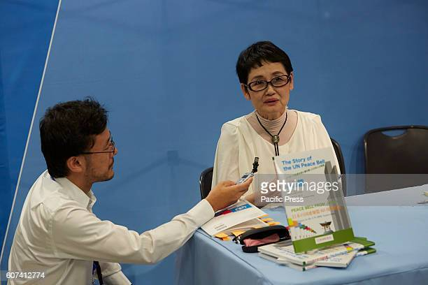 Author Seiko Takase signs books and greeted guests at the UN Book Store on the International Day of Peace Seiko Takase shares with us her father...