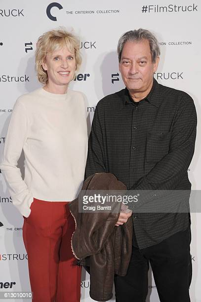 Author Siri Hustvedt attends the TCM 'FilmStruck' launch event at 404 NYC on October 6 2016 in New York City