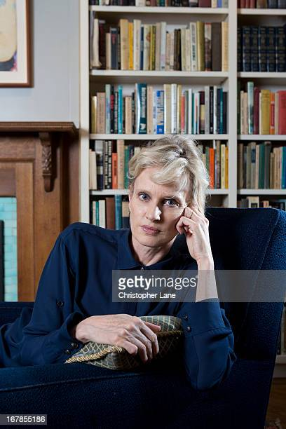 Author Siri Hustvedt is photographed for The London Times on May 22 2012 in New York City