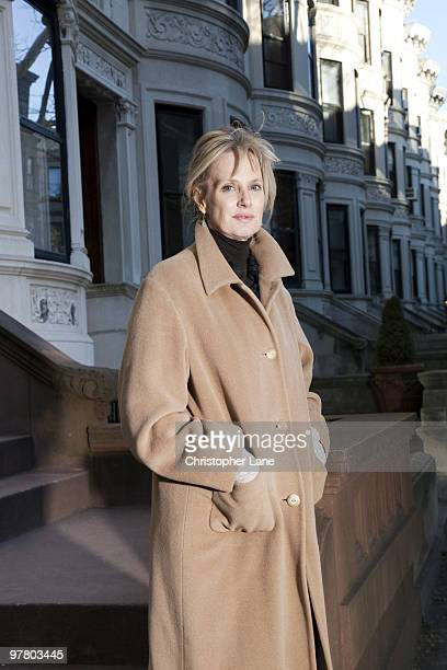 Author Siri Hustvedt poses for a portrait session on March 16 New York NY