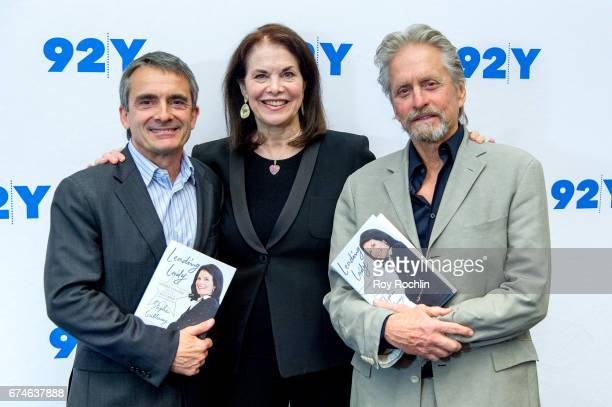 Author Stephen Galloway Sherry Lansing and Michael Douglas attend Sherry Lansing In Conversation With Michael Douglas Stephen Galloway at 92nd Street...