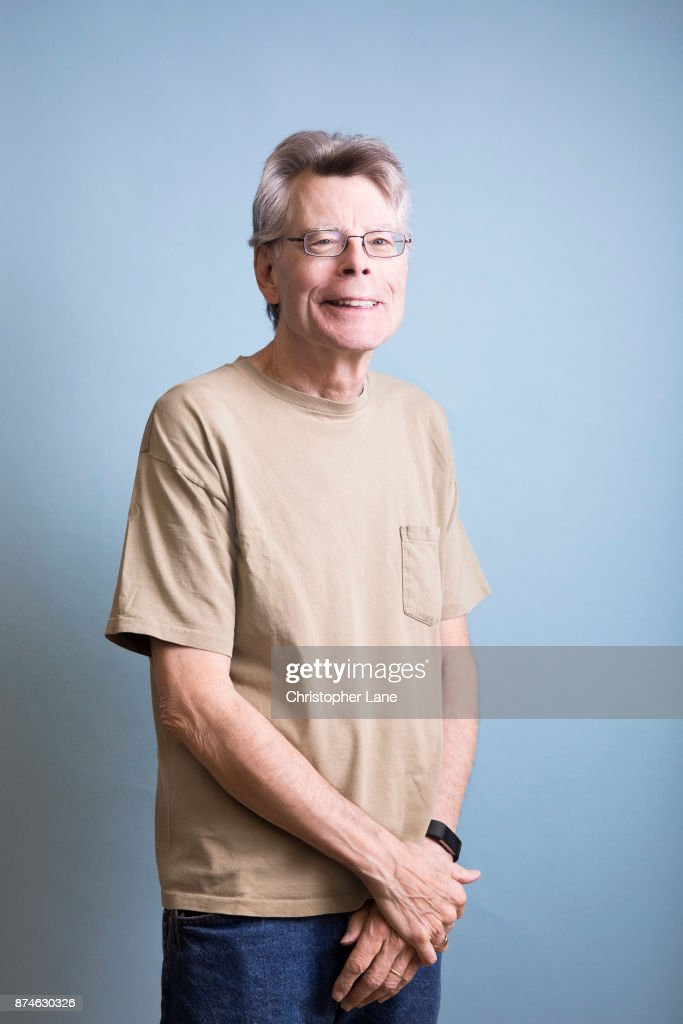 Author Stephen is photographed for The London Times on September 24, 2017 in New York City.