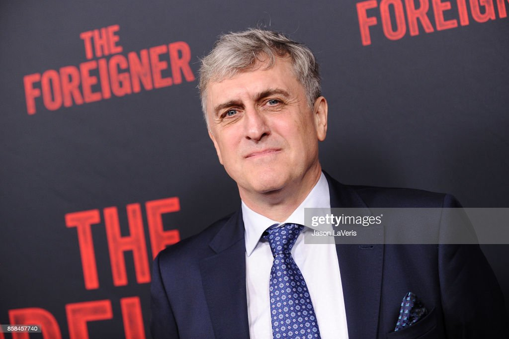 Author Stephen Leather attends the premiere of 'The Foreigner' at ArcLight Hollywood on October 5, 2017 in Hollywood, California.