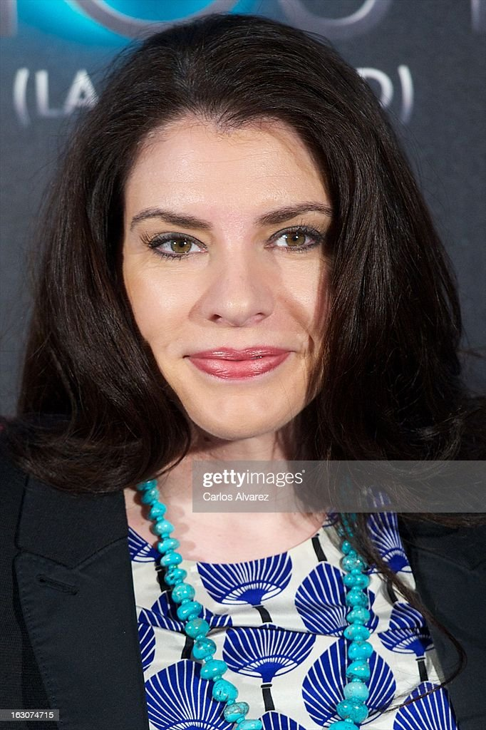 Author Stephenie Meyer attends a photocall for 'The Host' (La Huesped) at the ME Hotel on March 4, 2013 in Madrid, Spain.