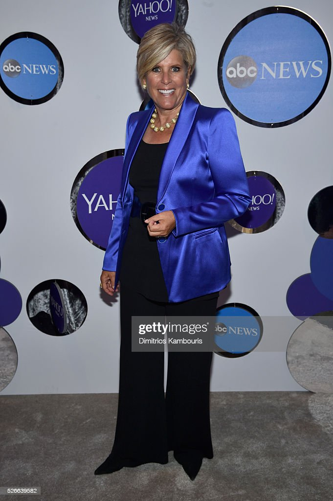 Author Suze Orman attends the Yahoo News/ABC News White House Correspondents' Dinner Pre-Party at Washington Hilton on April 30, 2016 in Washington, DC.