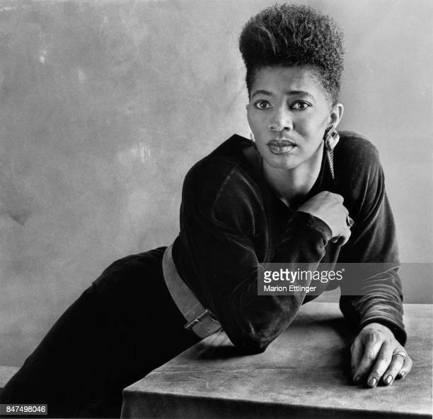 Author Terry McMillan is photographed in 1992 in New York City