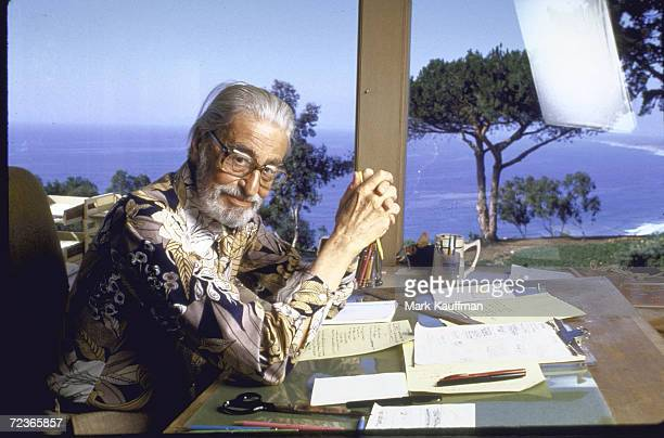 Author Theodore Geisel at home