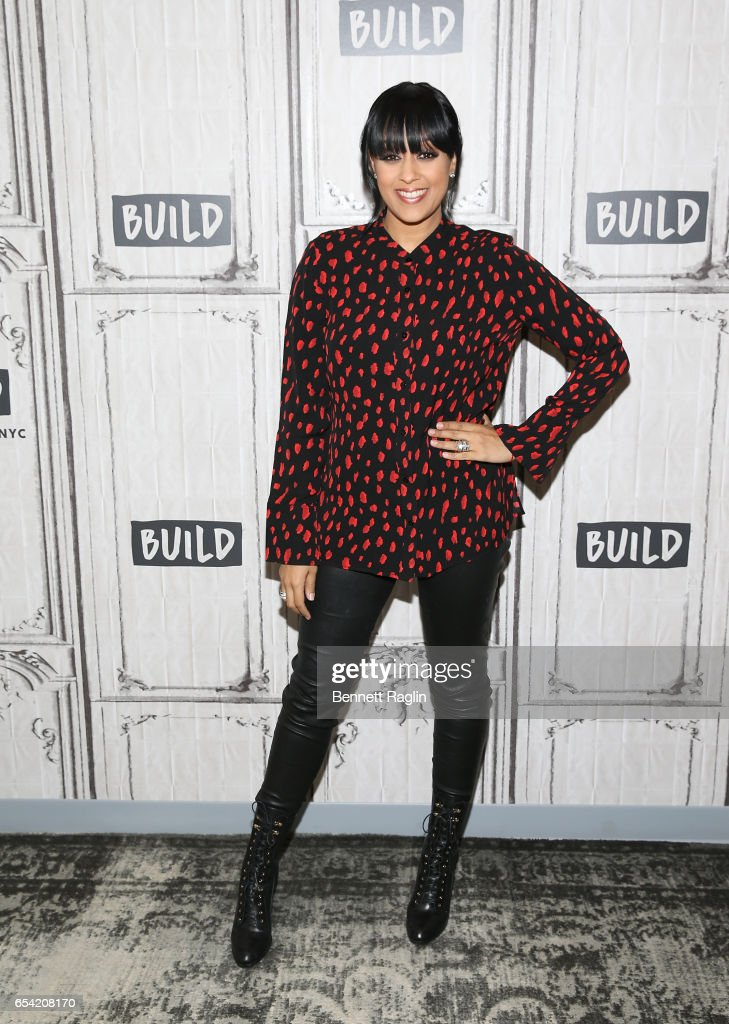 Author Tia Mowry attends the Build Series at Build Studio on March 16, 2017 in New York City.