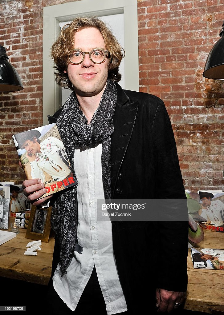 Author Tom Folsom attends the 'Hopper: A Journey Into the American Dream' book launch on March 5, 2013 in New York City.