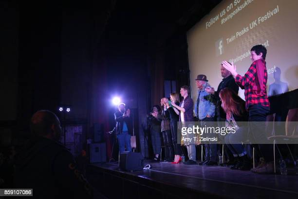 Author Tom Huddleston of Time Out magazine in London interviews actors Sherilyn Fenn James Marshall Amy Shiels Jake Wardle Michael Horse Sean Bolger...