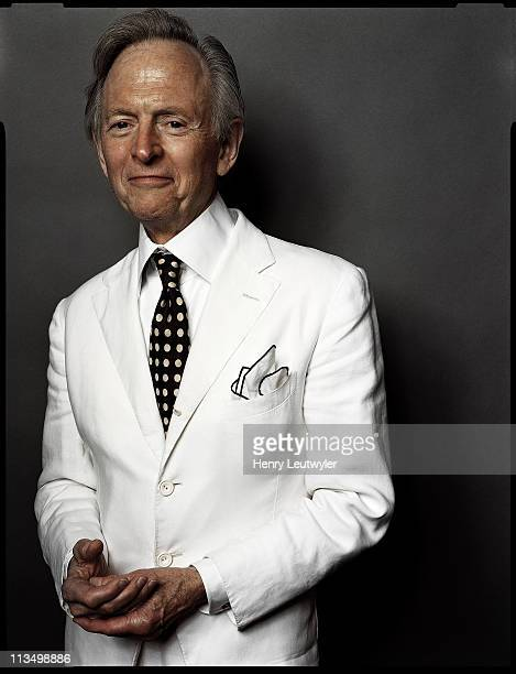 Author Tom Wolfe photographed in 2008 for the Chicago Tribune in New York City