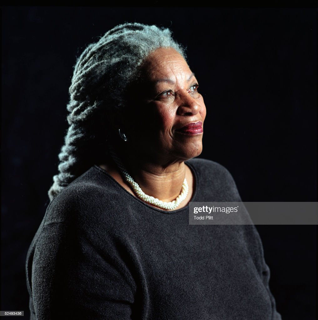 Author Toni Morrison poses for a portrait for her book entitled 'Love' in Midtown Manhattan on August 29, 2002 in New York City.