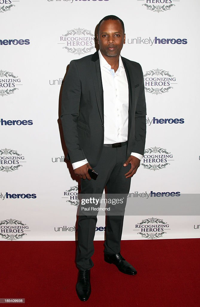 Author Toure Roberts attends 'Unlikely Heroes' Recognizing Heroes Awards Dinner and Gala at The Living Room at The W Hotel on October 19, 2013 in Los Angeles, California.