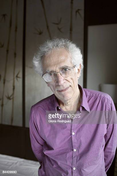 Author Tzvetan Todorov is photographed for El Pais