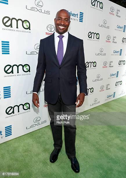 Author Van Jones attends the Environmental Media Association 26th Annual EMA Awards Presented By Toyota Lexus And Calvert at Warner Bros Studios on...
