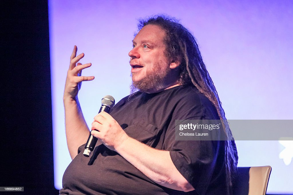 Author / virtual pioneer Jaron Lanier attends IMS Engage in partnership with W Hotels Worldwide at W Hollywood on April 17, 2013 in Hollywood, California.