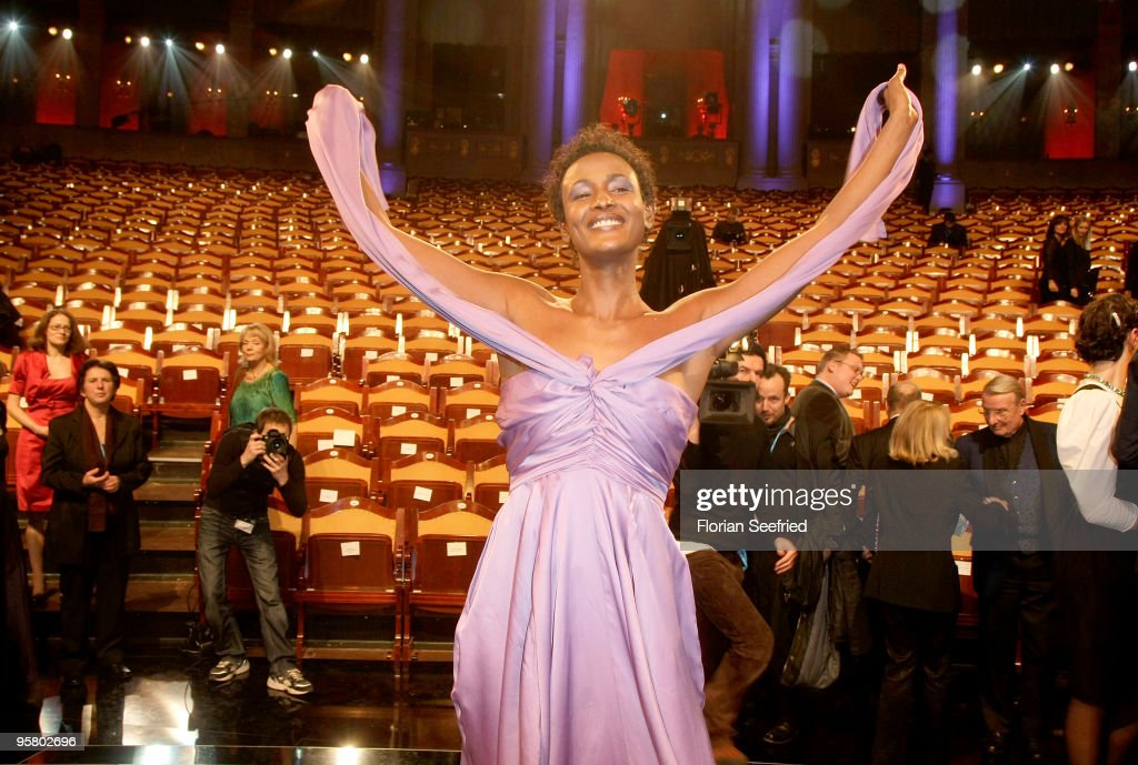 Author Waris Dirie attend the afterparty of the Bavarian Movie Award 2010 at the Prinzregententheater on January 15, 2010 in Munich, Germany.