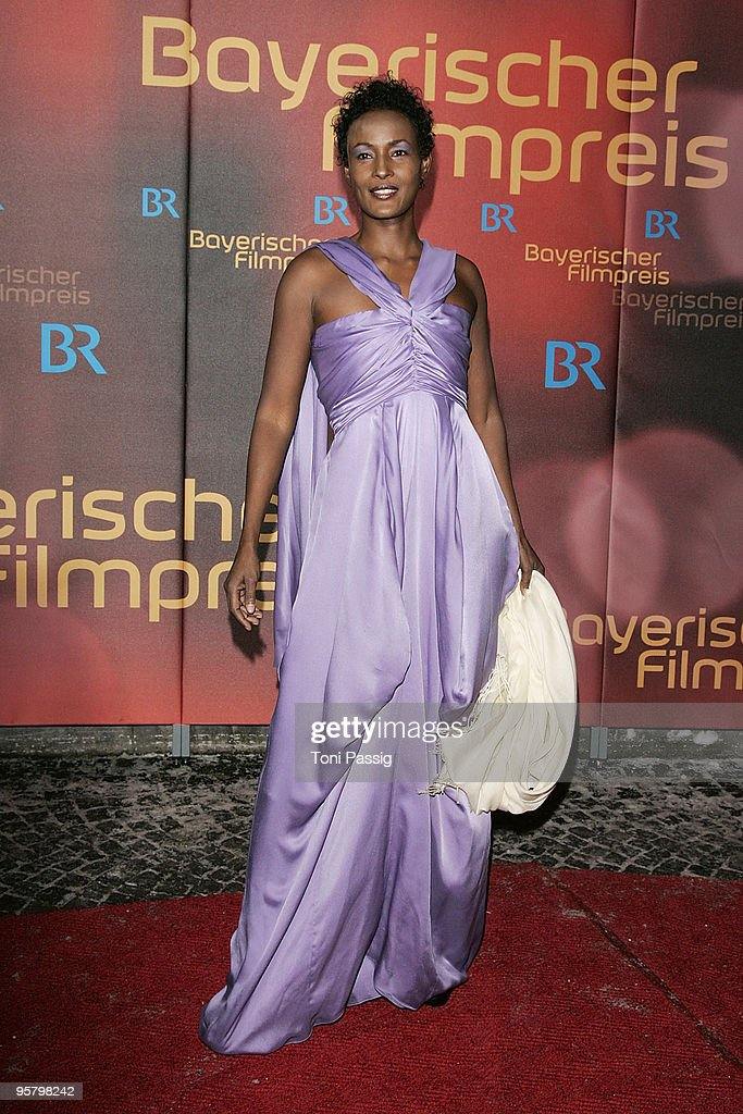 Author Waris Dirie attends the Bavarian Movie Award at Prinzregententheater on January 15, 2010 in Munich, Germany.