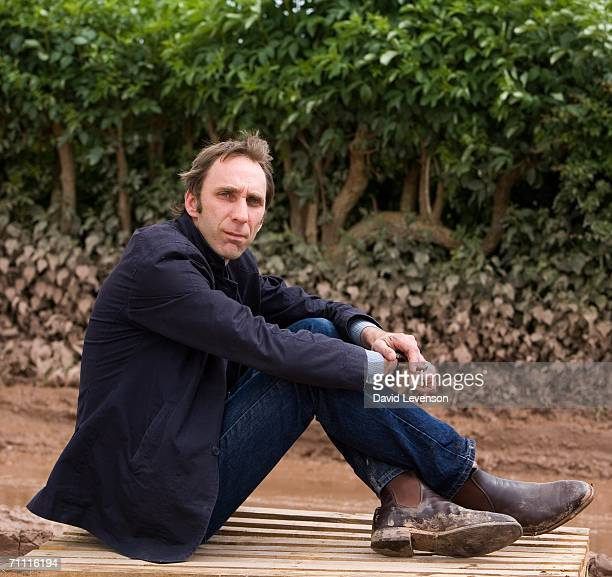 Author Will Self poses for a portrait at The Guardian Hay Festival 2006 held at Hay on Wye on May 28 2006 in Powys Wales The festival runs until June...