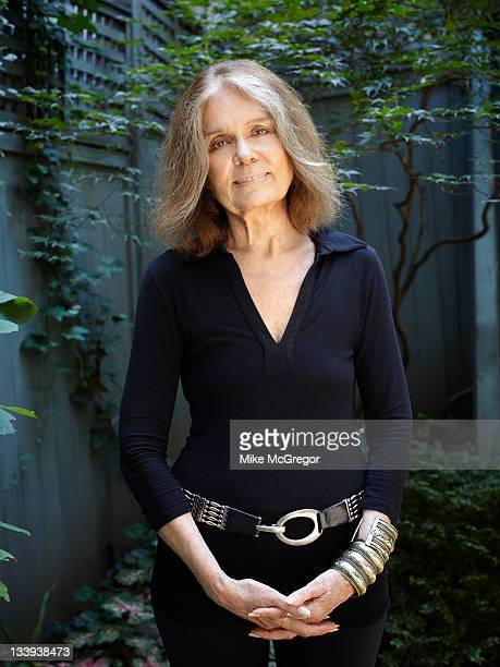 Author/activist Gloria Steinem is photographed for The Observer Newspaper on September 13 2011 in New York City