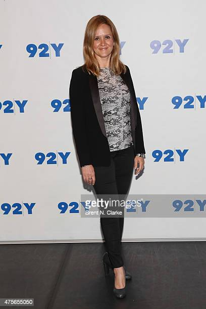 Author/actress Samantha Bee arrives for Judy Blume in conversation with Samantha Bee held at the 92nd Street Y on June 2 2015 in New York City