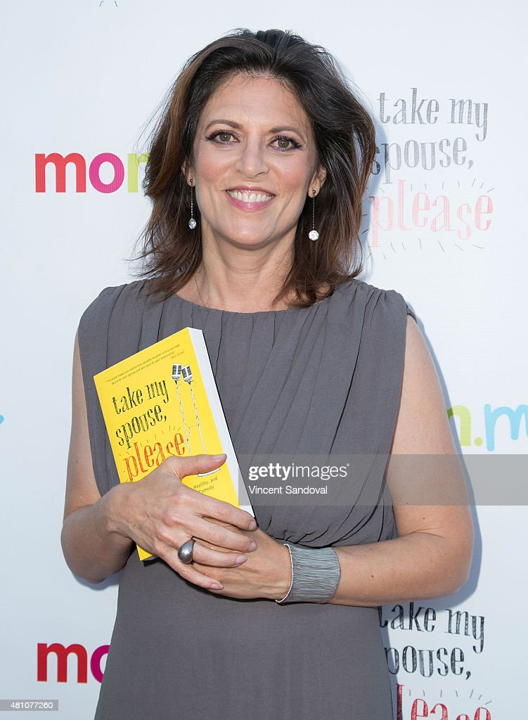 Author/comedian Dani Klein Modisett attends the book launch party for 'Take My Spouse Please' at Hollywood Improv on July 16 2015 in Hollywood...