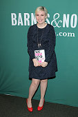 Author/comedian Lena Dunham poses for a photo at the book signing for her book 'Not That Kind of Girl A Young Woman Tells You What She's 'Learned' at...
