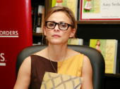 Author/comedian/actress Amy Sedaris signs copies of 'I Like You' at Borders Columbus Circle on December 16 2008 in New York City