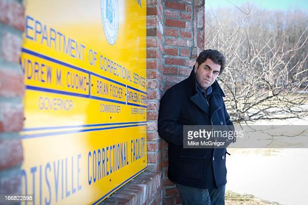 Author/documentary filmmaker Eugene Jarecki is photographed for at Otisville Correctional Facility on February 18 2013 in Otisville New York COVER...