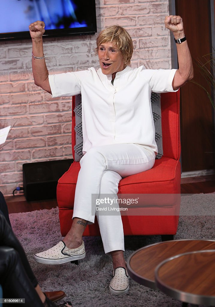Diana Nyad Visits Hollywood Today Live