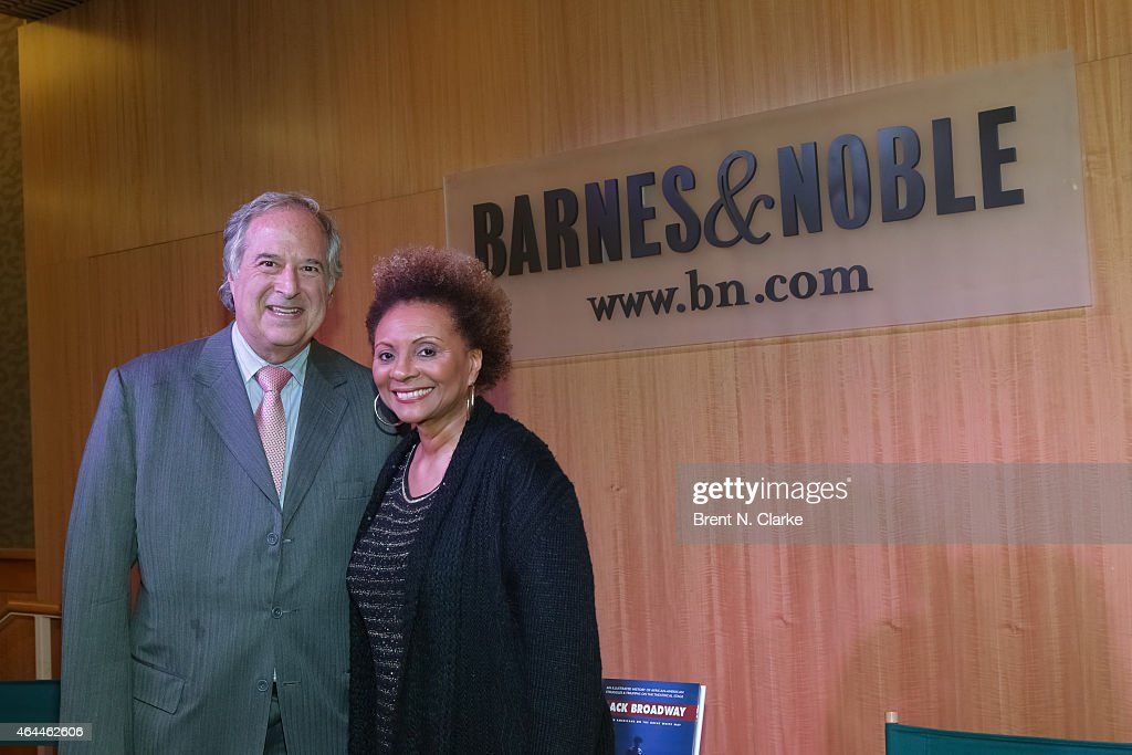 Author/producer Stewart Lane and actress Leslie Uggams attend Black History Month In Conversation With Stewart Lane Leslie Uggams Tom Santopietro and...