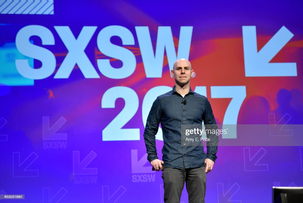 Author/professor Adam Grant speaks onstage at the Interactive Keynote during 2017 SXSW Conference and Festivals at Austin Convention Center on March 13, 2017 in Austin, Texas.