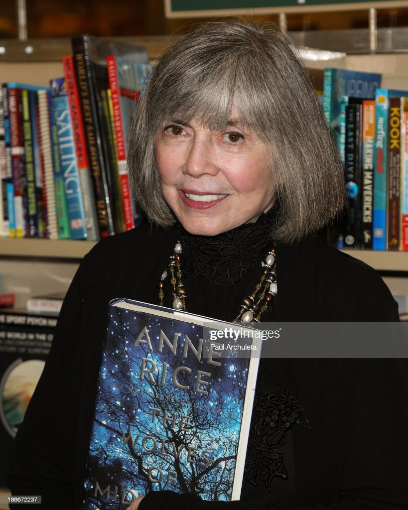 anne rice and christopher rice book signing for