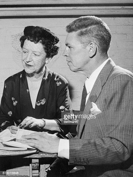 Authors Frances Goodrich and Albert Hackett were awarded the 1956 Pulitzer Prize for the best American play today for their dramatized Diary of Anne...