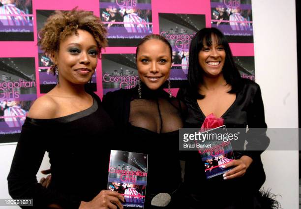 Authors Lyah Beth Leflore Lynn Whitfield and Charlotte Burley